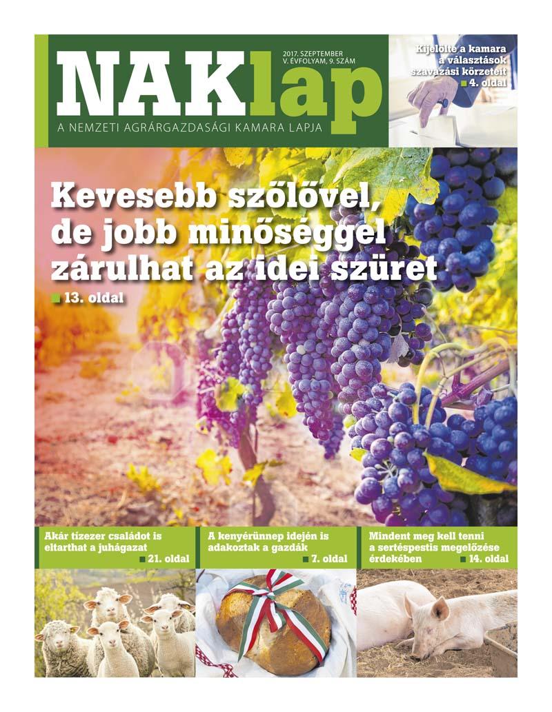 NAKlap 2017. szeptember V. évf. 9