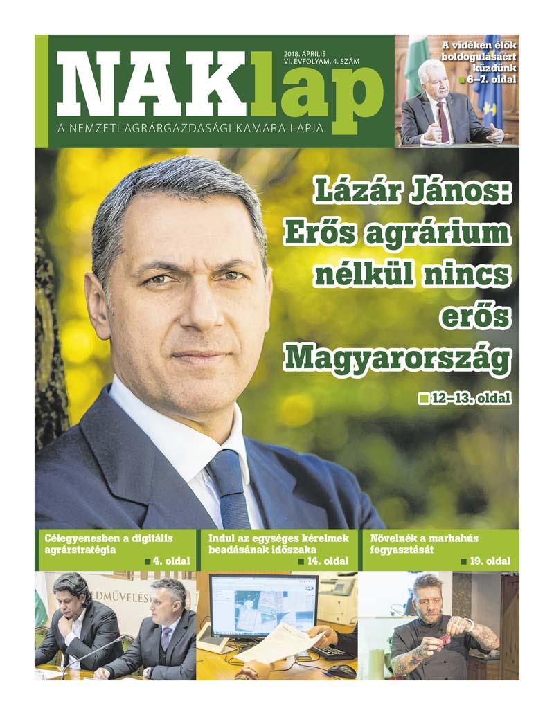 NAKlap 2018. április VI. évf. 4