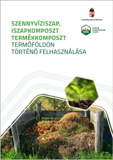 Szennyvíziszap, iszapkomposzt, termékkomposzt termőföldön történő felhasználása